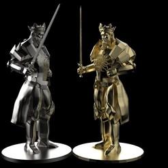 1.jpg Télécharger fichier OBJ Échecs à la pièce du roi • Modèle pour imprimante 3D, Proyect3DPro