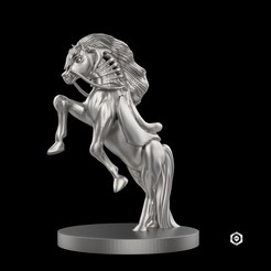 i1.jpg Download OBJ file Horse Chess Piece • 3D print design, Proyect3DPro