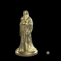 i1.jpg Download OBJ file Medieval Bishop • 3D printing template, Proyect3DPro