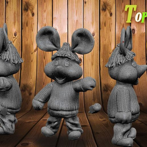 Download 3D printer designs Topo Gigio, DESIGNS0iKKi