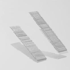Download free STL files wooden bridge, DESIGNS0iKKi