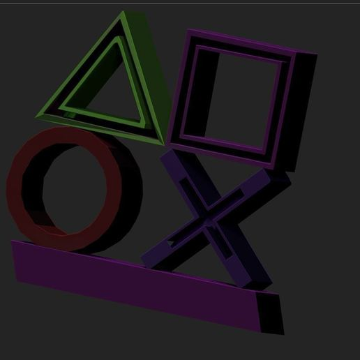 1.JPG Download free STL file icons light ps4 • Object to 3D print, DESIGNS0iKKi