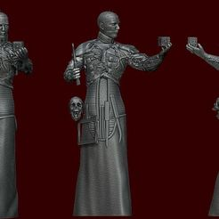 1 H.JPG Download STL file Hellraiser • 3D print object, DESIGNS0iKKi