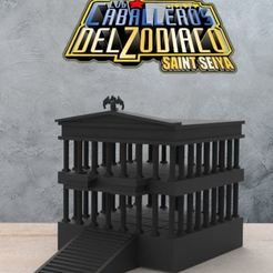 Download 3D printing templates 12 houses of the Zodiac, DESIGNS0iKKi