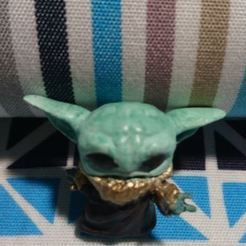 Download 3D printing files Baby Yoda The Mandalorian FUNKO TACO, DESIGNS0iKKi