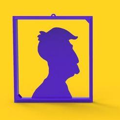 skkin.JPG Download STL file Skiner Silhouette • Template to 3D print, DESIGNS0iKKi
