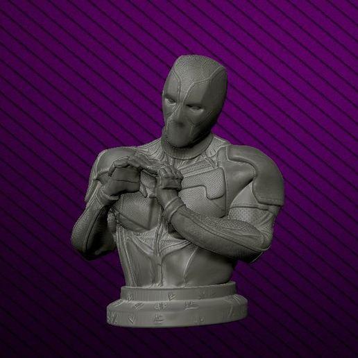 Download 3D printing templates DeadPool is Love, DESIGNS0iKKi