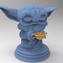 Descargar modelo 3D Baby Yoda The  Mandalorian FUNKO TACO, DESIGNS0iKKi