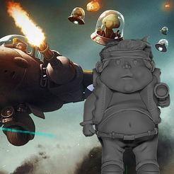 Download free 3D printer designs Metal Slug Marco Rossi Fat, DESIGNS0iKKi