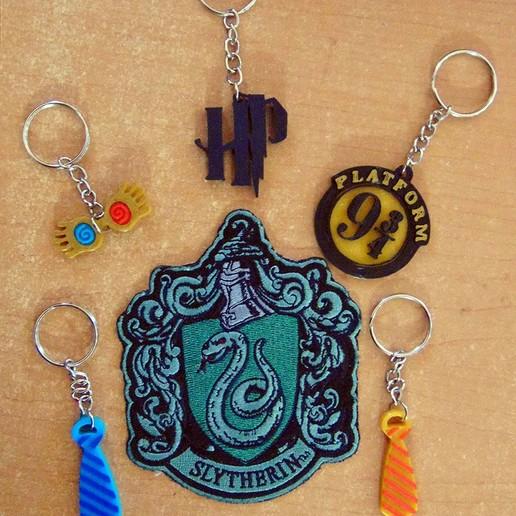 Download free STL file Llaveros de Harry Potter • 3D printable template, NoConvencional