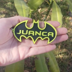 4.jpg Download free STL file Batman Keychains • Template to 3D print, NoConvencional