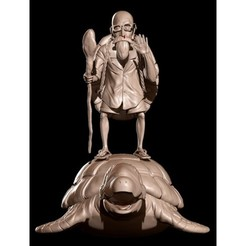 f3ccdd27d2000e3f9255a7e3e2c48800_preview_featured.jpg Download STL file dragon ball dbz turtle genial grandpa turtle master roshi • Model to 3D print, anonymous-70f76c30-a848-44b3-9aea-830b70041832