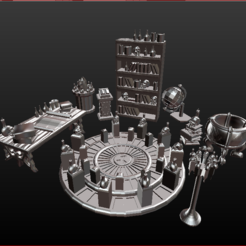 00 sanct ob.PNG Download STL file Objects and Furniture Sanctuary Spells • Template to 3D print, estebanb