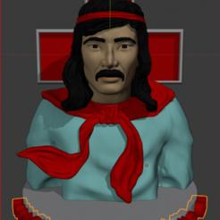 Captura.PNG Download STL file Gauchito Gil • 3D printer object, estebanb