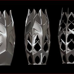 Impresiones 3D Treeshape Vases , estebanb