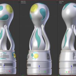 Copa4.PNG Télécharger fichier STL Coupe d'Argentine • Design pour impression 3D, estebanb