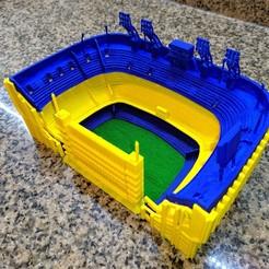 2.jpg Download STL file BOCA JR. Stadiums • 3D print design, estebanb