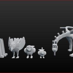 Descargar diseños 3D Figuras de arcilla de Deidara, estebanb