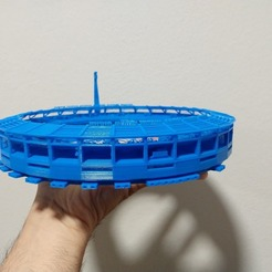 impresion 2.jpg Download STL file RACING Stadium • 3D print object, estebanb