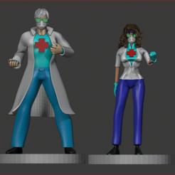 docs 4.PNG Download STL file True Heroes • 3D printing model, estebanb
