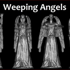 Descargar modelo 3D Doctor Who Weeping Angels, estebanb