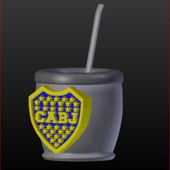 01 Mate Boca.PNG Download STL file 9 Mates Football • 3D printer design, estebanb
