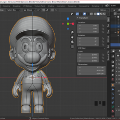 cabezon.PNG Download STL file Super Mario Bross Super Head • 3D printing object, estebanb