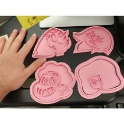 make.JPEG Download STL file Steven Universe Cookie Cutters • 3D printing model, estebanb