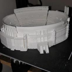 IMPRESION CLIENTE.jpg Download OBJ file RIVER Stadium • 3D printer template, estebanb