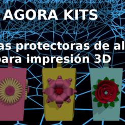 Download 3D printing models FLOWER POWER KIT, estebanb