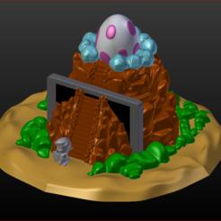 00.PNG Télécharger fichier STL Windfish Mountain Support de Nintendo Switch • Objet imprimable en 3D, estebanb