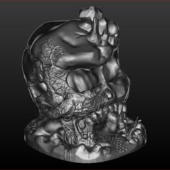 Download 3D model Skull Cave, estebanb