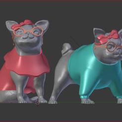 1.PNG Download STL file Pug SIMONES • Template to 3D print, estebanb