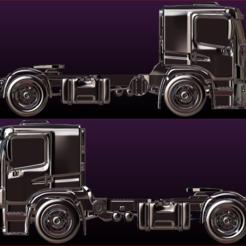 Descargar modelo 3D Truck 3d print ready, estebanb
