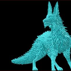 1.PNG Download STL file Crystal Fox • 3D printer template, estebanb