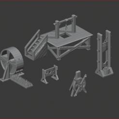 Tortura y Muerte.PNG Download STL file Torture and Death • Template to 3D print, estebanb