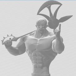 Télécharger fichier STL Escanor (Nanatsu No Taizai) • Design pour imprimante 3D, lucasxd331