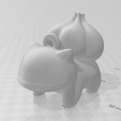 Bulbassaur 1.jpg Download STL file Bulbassaur Keychain (Pokémon) • 3D printable template, lucasxd331