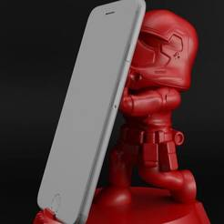 Download 3D model Storm Trooper cellphone holder, eortizrangel