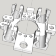 Download free STL Mendel X-Carriage with 12mm inductive probe mount, Urgnarb