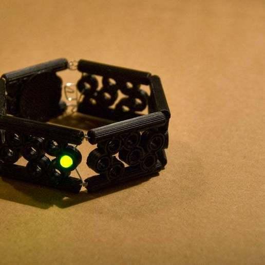 modularbubblebracelet4.jpg Télécharger fichier STL gratuit Bracelet à Bulles Modulaire • Objet imprimable en 3D, Urgnarb