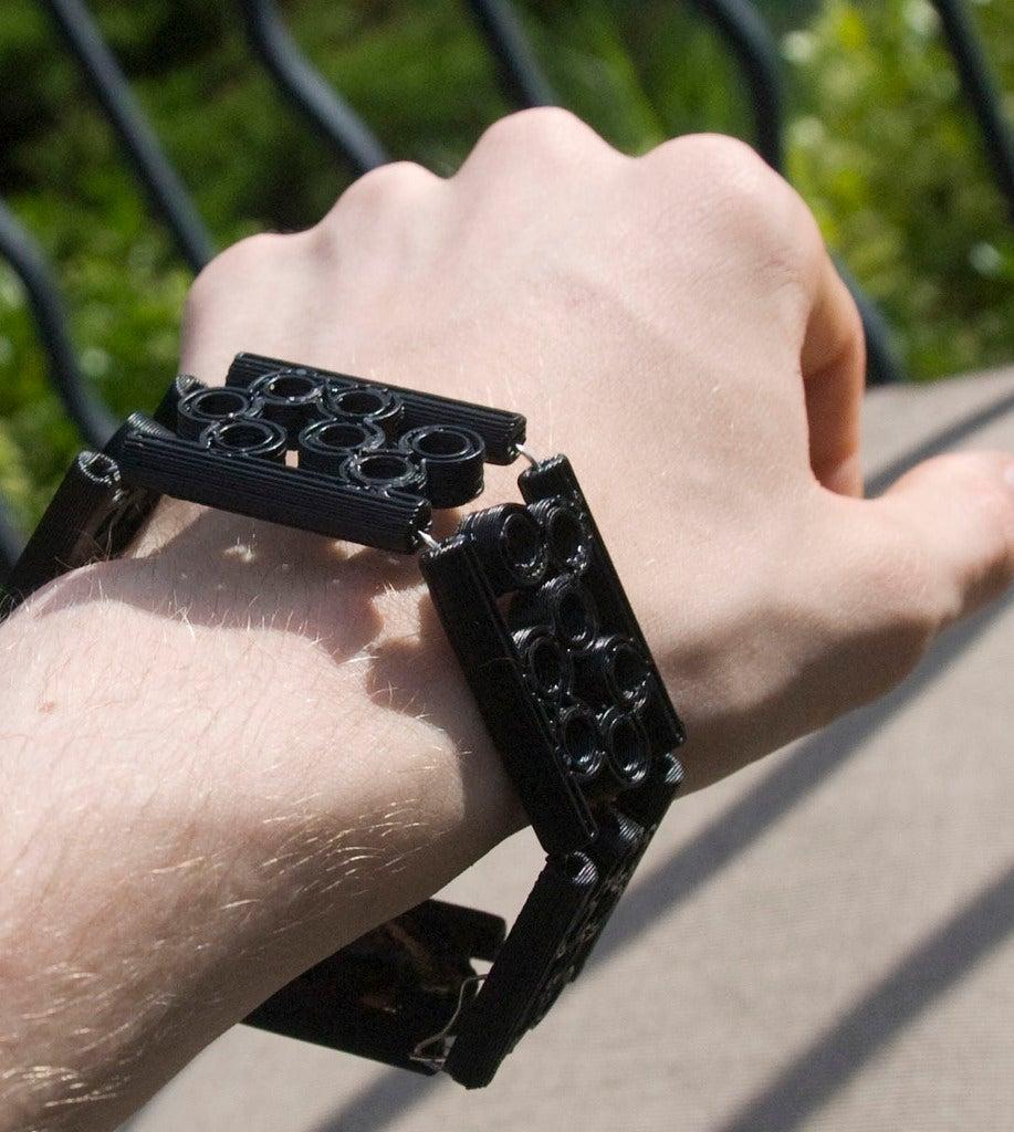 modularbubblebracelet6.jpg Télécharger fichier STL gratuit Bracelet à Bulles Modulaire • Objet imprimable en 3D, Urgnarb
