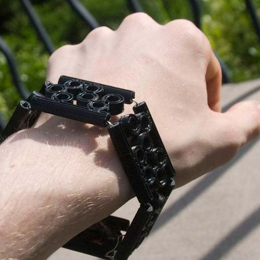 Download free 3D printing models Modular Bubble Bracelet, Urgnarb