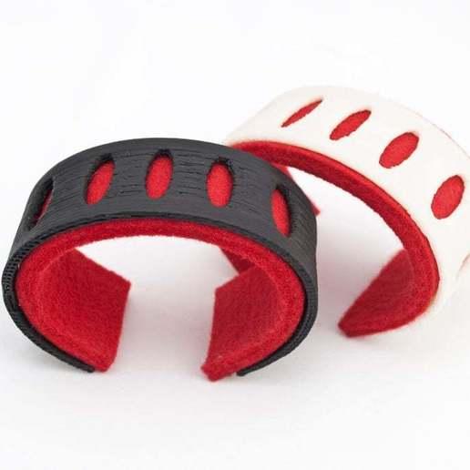Felt Bracelet.jpg Télécharger fichier STL gratuit Bracelet en feutre • Modèle pour impression 3D, Urgnarb