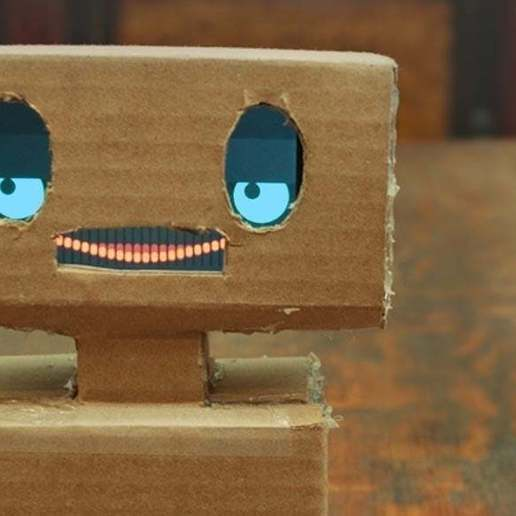 Download free 3D printing designs Mimbo - A Friendly Robot, Urgnarb