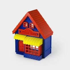 sweet_shop1.jpg Download free STL file Sweet Shop • 3D printing model, Urgnarb