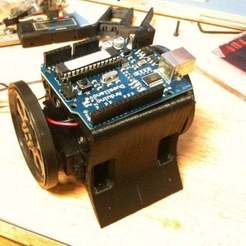 It's so cute!.jpg Download free GCODE file Sumobot Chassis • 3D print object, Urgnarb