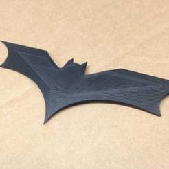 Download free GCODE file Dark Knight Rises Batarang • 3D printable template, Urgnarb