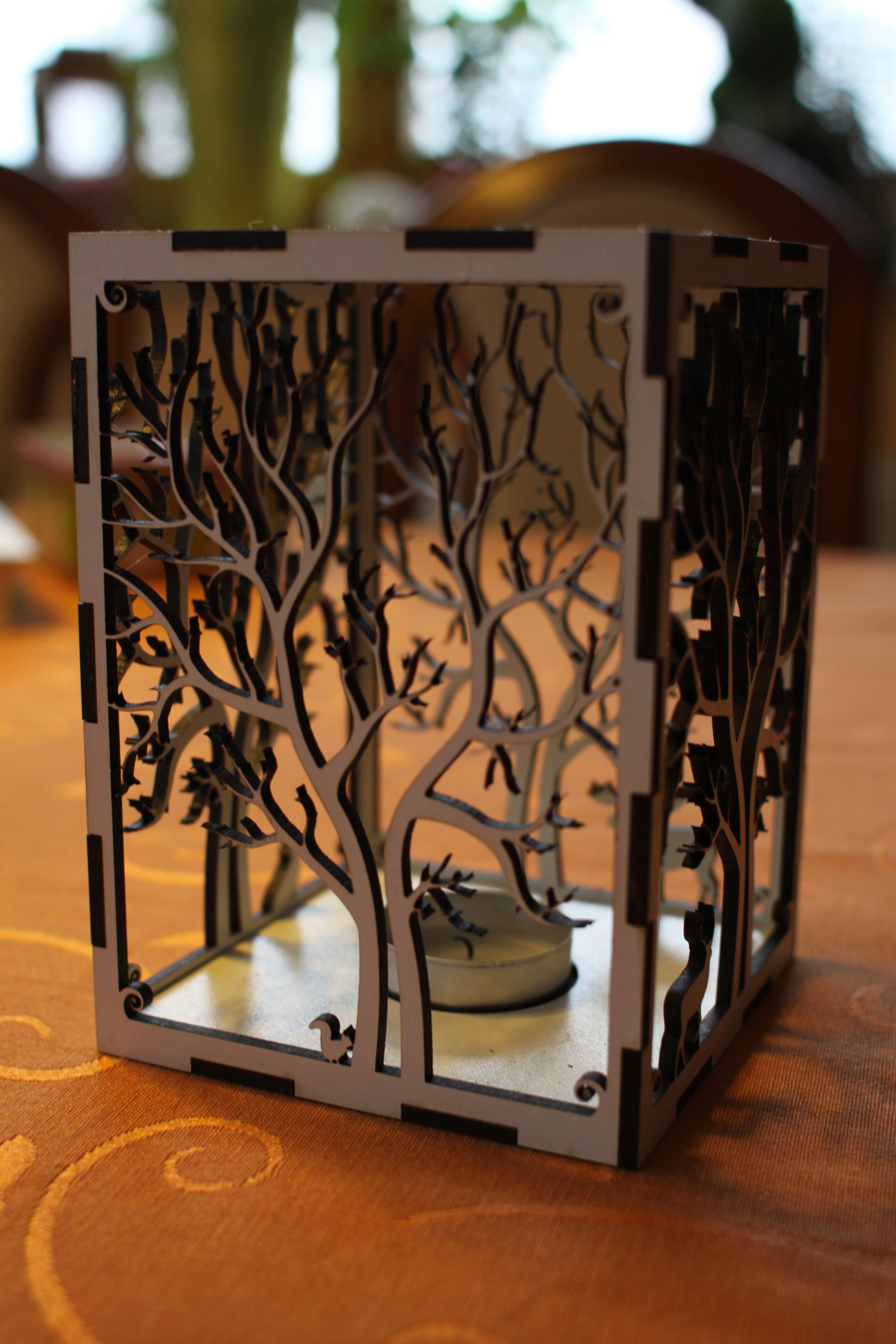 IMG_0734.jpg Télécharger fichier STL gratuit bougeoir bougeoir découpe laser Arbre & Animaux en bois bois présent bougie thé • Plan pour impression 3D, Urgnarb