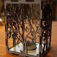 IMG_0734.jpg Download free STL file candle holder laser cut Tree & Animals wood present tea candle • 3D printer design, Urgnarb